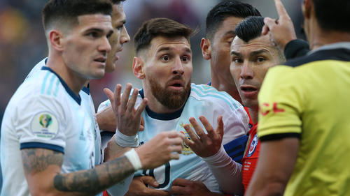 Wurde für das erste Spiel der WM-Qualifikation gesperrt: Lionel Messi