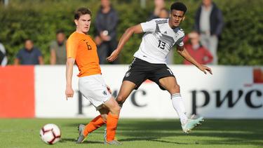 Neu im Aufgebot der U21: HSV-Verteidiger Josha Vagnoman