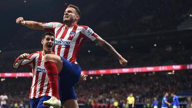 Gute Laune bei Atlético Madrid
