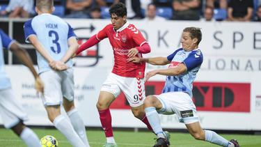 Wahid Faghir (#9) ist für Eintracht Frankfurt und Hertha BSC interessant