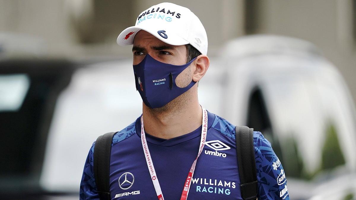 Nicholas Latifi fuhr beim Formel-1-Rennen in Ungarn auf Rang sieben