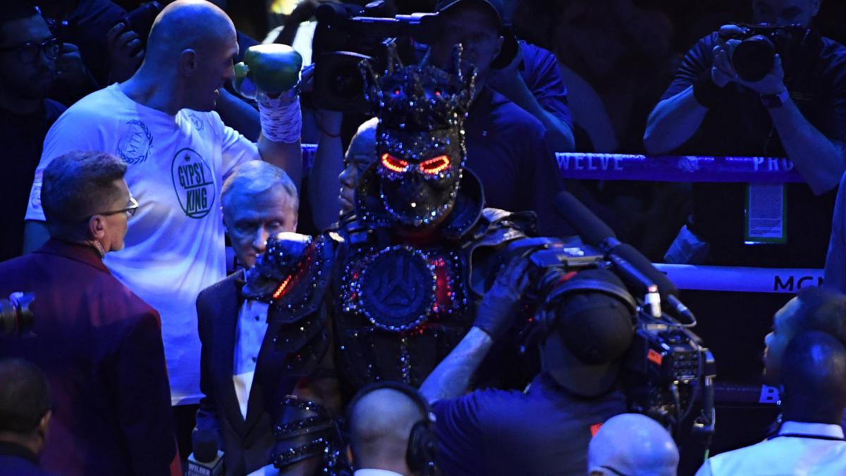 Das Kostüm war schuld: Deontay Wilder
