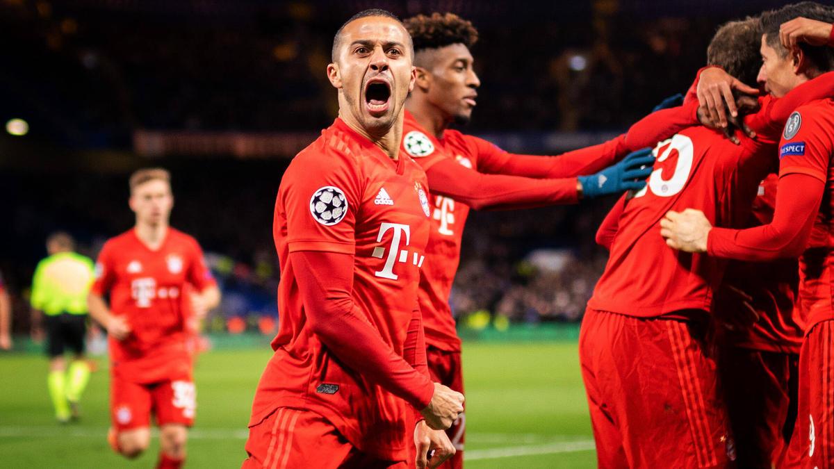 Thiago spielt beim FC Bayern eine tragende Rolle