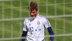 Thomas Müller war mit dem Auftakt des FC Bayern zufrieden