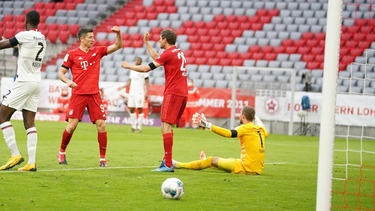 FC Bayern vs. Eintracht Frankfurt: Noten und Einzelkritik