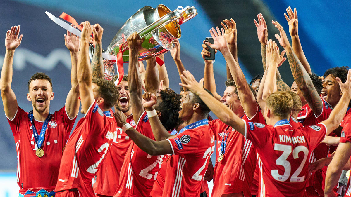 FC Bayern Baut Champions League Rekord Aus