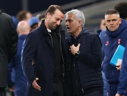 Feldhofer im Gespräch mit Mourinho