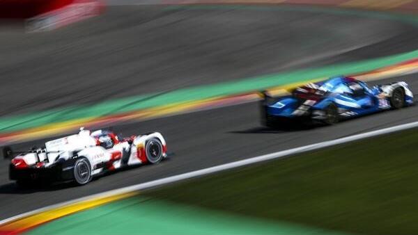 Toyota kommt in Spa bislang nur mit Mühe mit den LMP2 mit