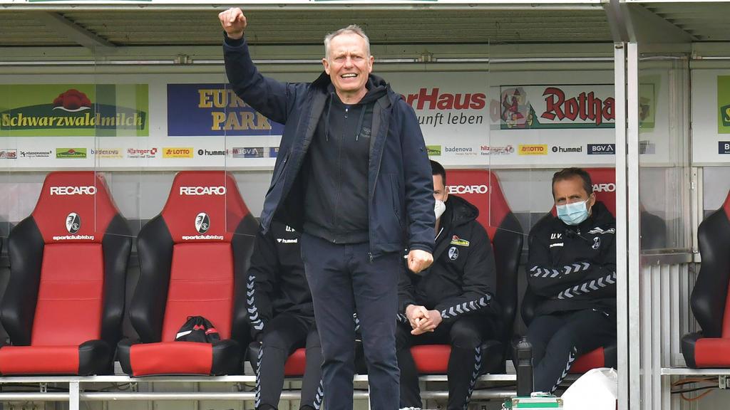 Fordert beim SC Freiburg weiter höchste Konzentration: Christian Streich