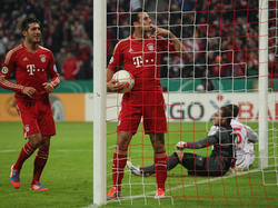 Bayern schlägt Lautern im Pokal