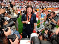 2008 in Peking holte Messi mit Argentinien Gold
