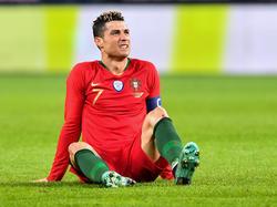 Cristiano Ronaldo und die Portugiesen kamen in Genf unter die Räder