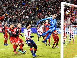 Alex Bono no puede evitar el gol de Alan Pulido. (Foto: Getty)