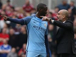 Yaya Touré und Pep Guardiola werden wohl keine Freunde mehr