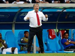 Hernán Gómez will gegen England für eine Überraschung sorgen