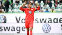 Wolfsburgs Torwart Koen Casteels ist in Leverkusen nicht dabei. Er wird Vater