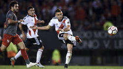 Borré anotó el tercer tanto del River Plate. (Foto: Getty)
