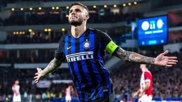 Icardi dio la victoria al Inter en Holanda. (Foto: Getty)