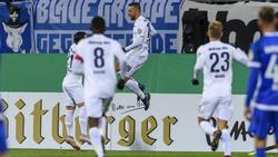 Vedad Ibisevic brachte die Hertha mit seinem Tor auf die Siegerstraße