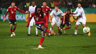 Renato Sanches und der FC Bayern stehen im Achtelfinale des DFB-Pokals