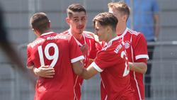 Die Junioren des FC Bayern gewann die Partie in Athen ohne Mühe