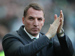 Celtic-Trainer Brendan Rodgers ist als Leicester-Coach im Gespräch. © Getty Images/Ian MacNicol