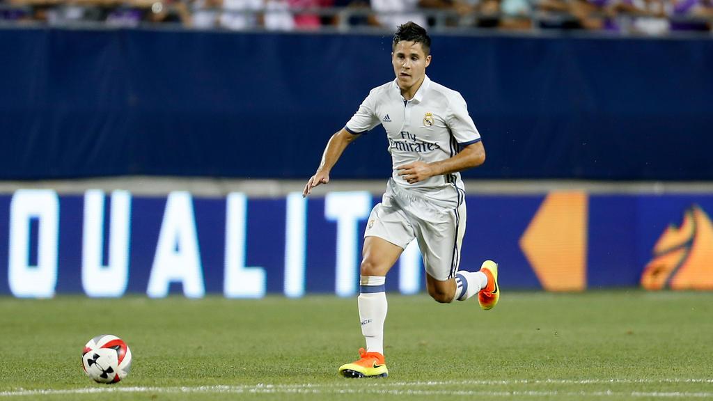 Álvaro Tejero machte vier Pflichtspiele für die Profis von Real Madrid