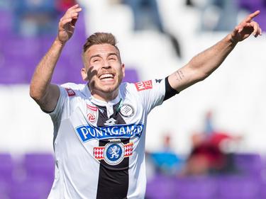Sandi Lovrič möchte ab sofort in der Schweizer Liga jubeln