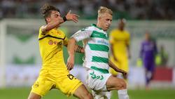 Lukas Gugganig (r.) spielt künftig für den VfL Osnabrück