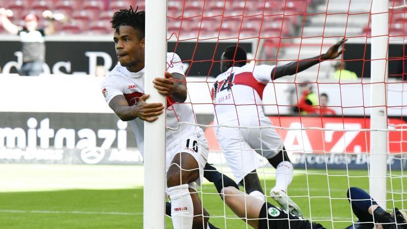 Der VfB Stuttgart erarbeitete sich einen glanzlosen Sieg gegen Fürth
