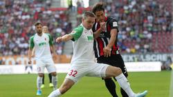 Der FC Augsburg setzte sich gegen Eintracht Frankfurt durch