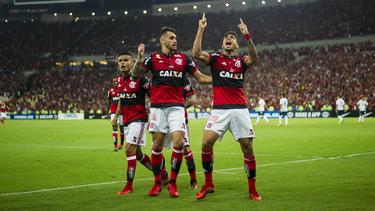 El Flamengo sigue mandando en la clasificación.