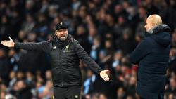 Sind sich nicht immer ganz grün: Jürgen Klopp und Pep Guardiola