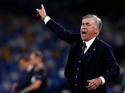 Carlo Ancelotti befindet sich im Dissens mit der Vereinsführung der SSC Napoli