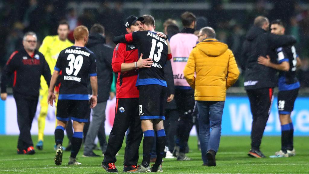 Freut sich auf die Gäste aus Berlin: Paderborns Trainer Steffen Baumgart