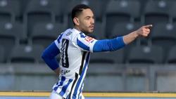 Matheus Cunha von Hertha BSC ist gegen den 1. FC Köln ein Startelf-Kandidat