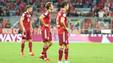 Der FC Bayern musste erstmals in dieser Saison eine Niederlage hinnehmen