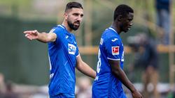 Neuzugang Munas Dabbur (l.) gab sein Debüt für die TSG Hoffenheim