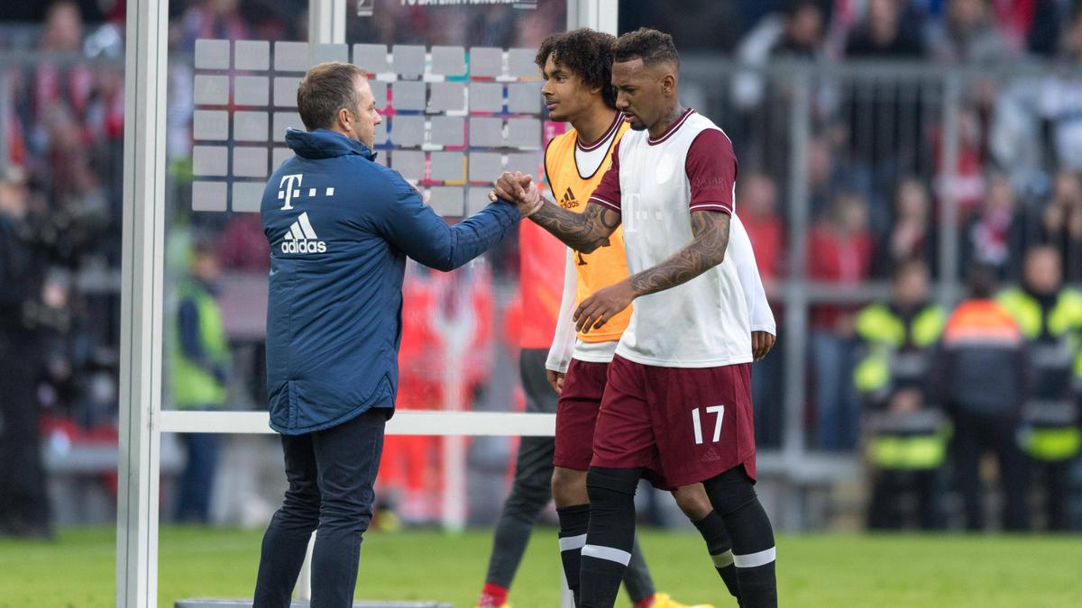 Hansi Flick sorgt beim FC Bayern für gute Laune