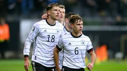 Die deutschen Nationalspieler Leon Goretzka und Joshua Kimmich starten eine Initiative