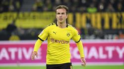 Stand auf dem Zettel von Hertha BSC: BVB-Profi Mario Götze