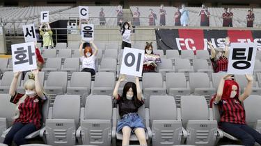 Die Zuschauerattrappen des FC Seoul waren Sexpuppen