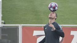 Zurück im Training von Juventus: Cristiano Ronaldo