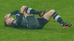 Baptiste Santamaria hat sich beim Spiel gegen den FC Bayern verletzt