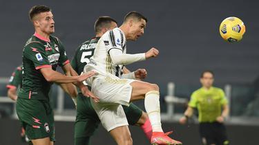Cristiano Ronaldo traf bereits in der ersten Halbzeit doppelt