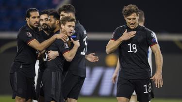 Deutschland gewinnt gegen Island