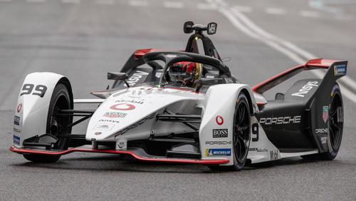 Pascal Wehrlein sichert sich ibemi E-Prix in Rom Rang drei