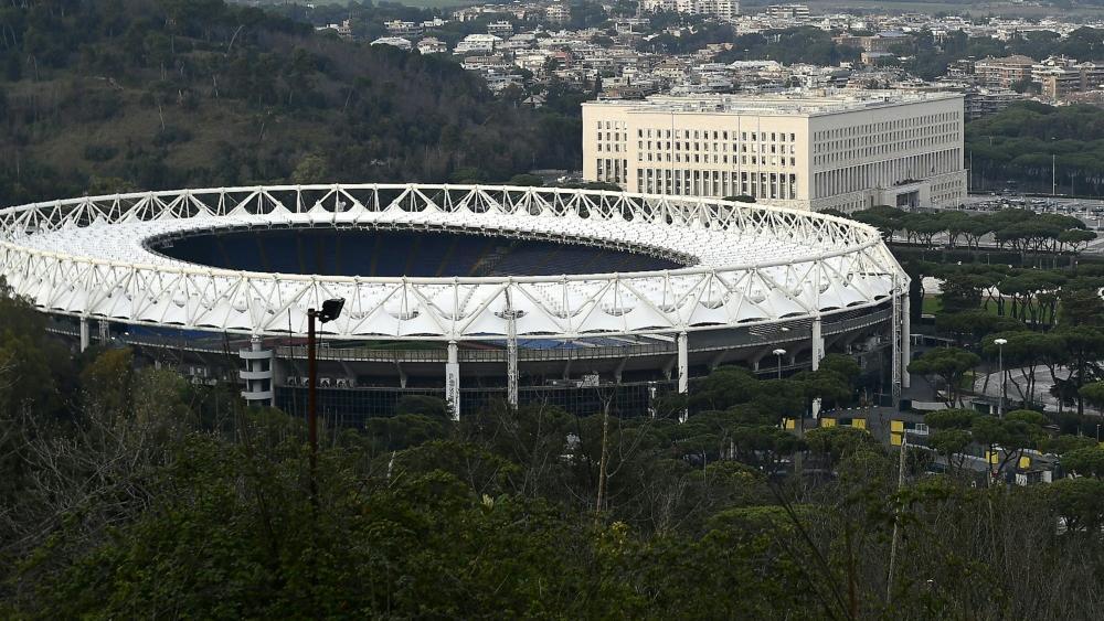 In Rom sind Spiele mit 25 Prozent Auslastung vorgesehen