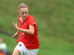 Katharina Mayr erzielte das Goldtor für Österreich