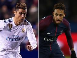 Ronaldo und Neymar stehen sich in Madrid gegenüber. © Getty Images/M.Queimadelos, C. Ivill
